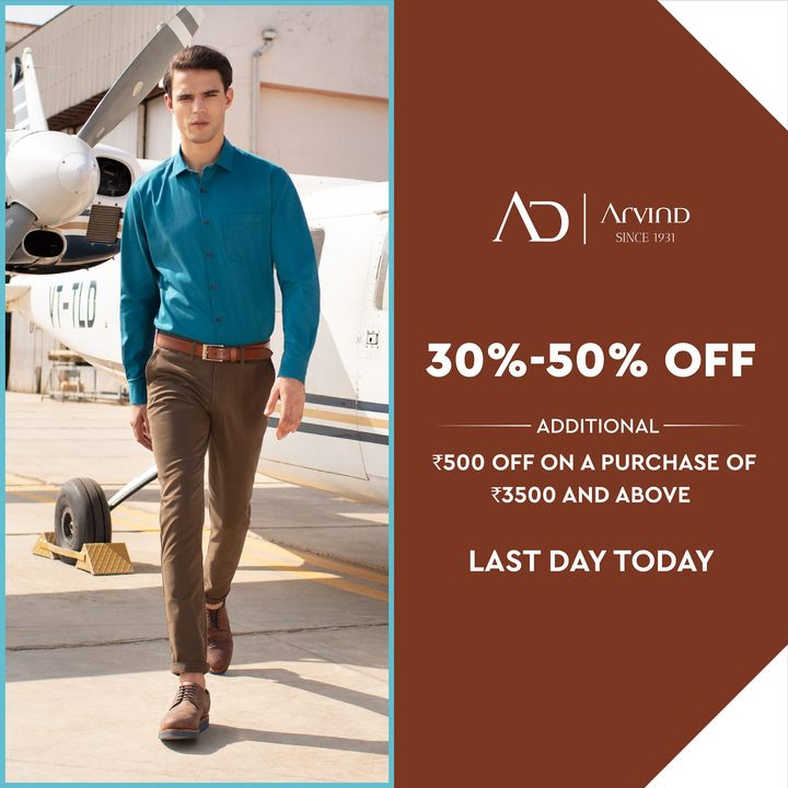 #OfferAlert NOW is the time to shop for the best of menswear collection from AD on arvind.nnnow.com   #Arvind #ADbyArvind #Menswear  #Fashion #Style #StyleUpNow  #Dapper #FashioningPossibilities