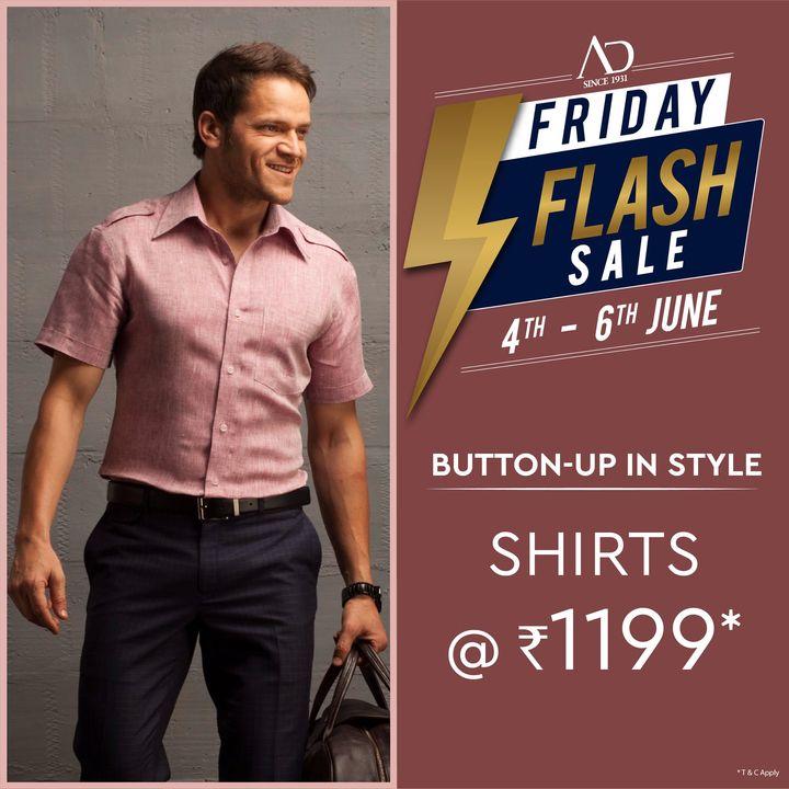 The Arvind Store,  OfferAlert, Arvind, ADbyArvind, Menswear, Fashion, Style, StyleUpNow, YayFriday, FridayFlashSale, Dapper, FashioningPossibilities