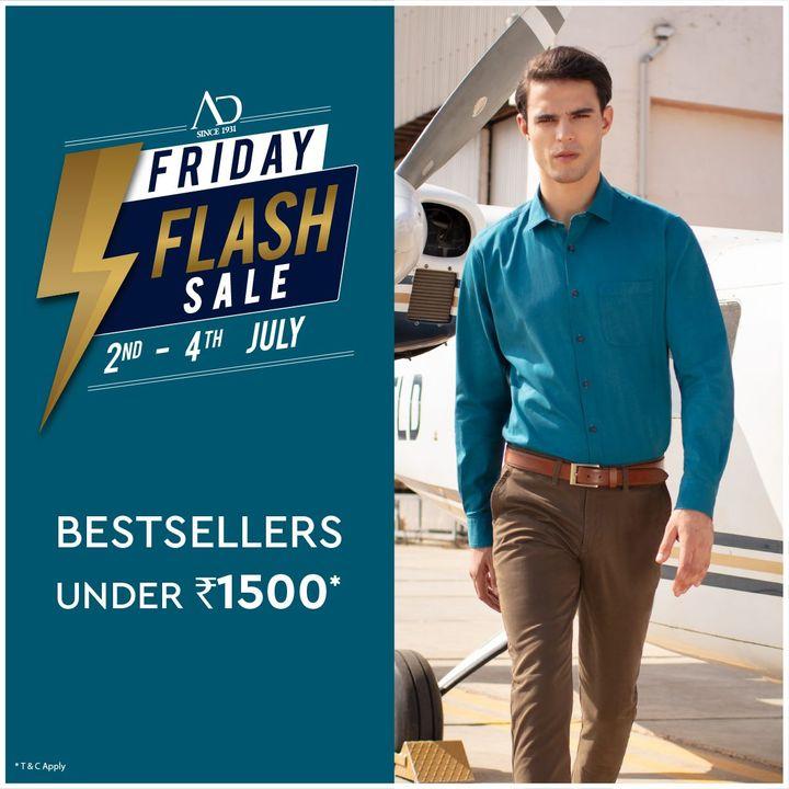 The Arvind Store,  OfferAlert, FridayFlashSale, Arvind, ADbyArvind, Menswear, FridayFashion, YayFriday, Suave, Style, StyleUpNow, Dapper, FashioningPossibilities