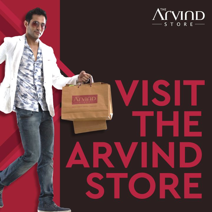 #OfferAlert Deals in store at #TheArvindStore ! Shop for Rs. 6,999 and get a premium fabric gift pack of Rs. 1,999 for Rs. 99 only. We take all the safety precautions.    #Arvind #Menswear #StyleUpNow #Style #Dapper #StaySafe #StayClassy #FridayFashion #YayFriday #FashioningPossibilities