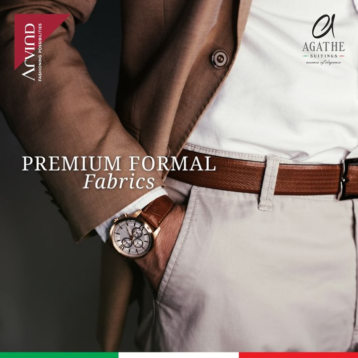 Get back to formals in style with the agathe collection.   #Arvind #Agathe #Menswear  #Fashion #Formals  #Style #StyleUpNow  #Dapper #Suits #MondayMode  #FashioningPossibilities