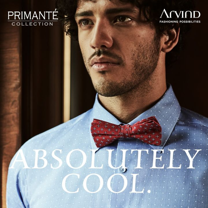 Few things are as cool and premium as the Primante collection by Arvind.   #Arvind #Primante #Menswear #Dapper #Fashion #Style  #Suits #Suave #StyleUpNow #TrendyTuesday #FashioningPossibilities