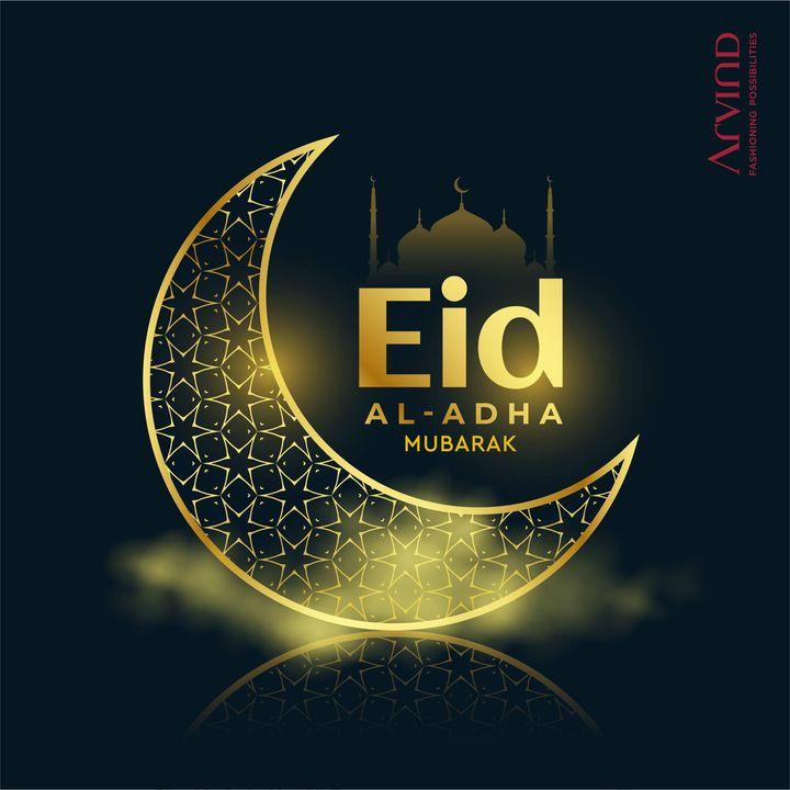Eid Al-Adha Mubarak. Prayers for a healthy & prosperous world.  #EidAlAdha #EidMubarak #Prayers  #Arvind