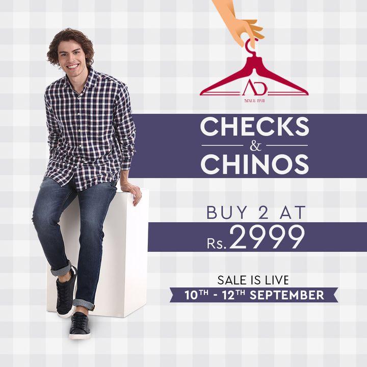 The Arvind Store,  ChecksNChinos, Salefie, Salesational, ADHandpicked, FashioningPossibilities, ReadyToWear, Menswear, StayStylish, OfferAlert