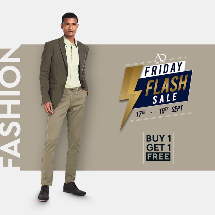The Arvind Store,  ADbyArvind, Arvind, ArvindMensWear, FashioningPossibilities, FridayFlashSale, Sale, ReadyToWear, Menswear, StayStylish, OfferAlert, LoveForShopping, ClassicStyles