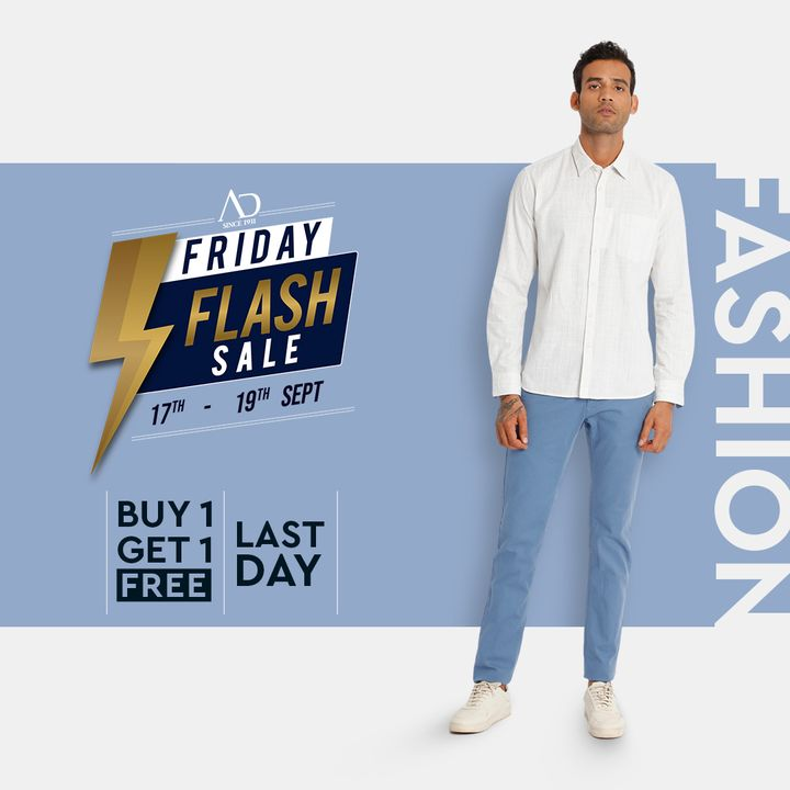 The last day to upgrade your fashion wardrobe is today! Show the world your impeccable style sense.  Be inspired to get the look: https://arvind.nnnow.com/arvind-b1g1  #Arvind #FashioningPossibilities #ADbyArvind #ArvindMensWear #LastDay #Sale #ReadyToWear #Menswear #StayStylish #OfferAlert #LoveForShopping #ShopTillYouDrop
