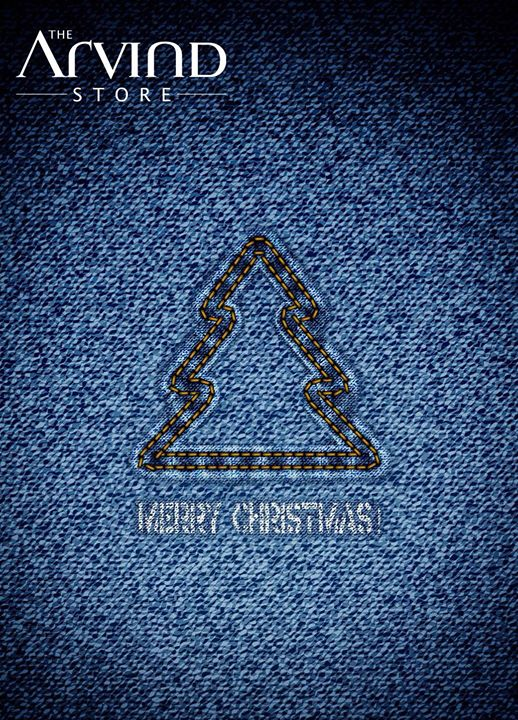 Arvind Ltd - The Arvind Store wishes you all a #Merry #Christmas!