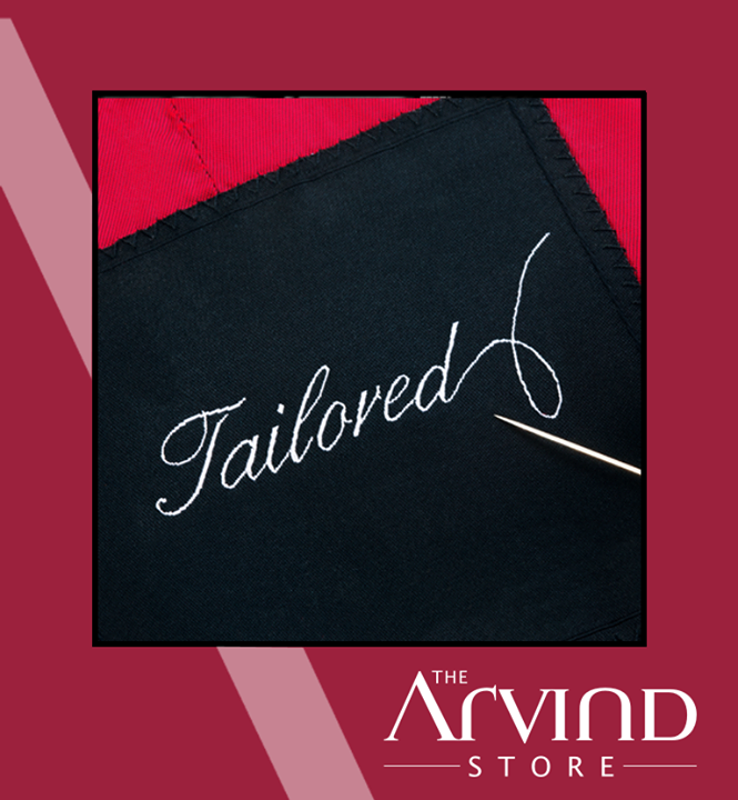 #Customize your #Fashion wear, the way you like it! Visit your nearest The Arvind Store !