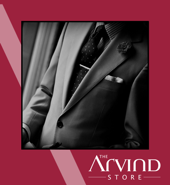 #Sagging and baggy clothes that's a thing in the past,it's all about suits and ties..  #Suit  #Monochromes #TAS #TheArvindStoreIndia