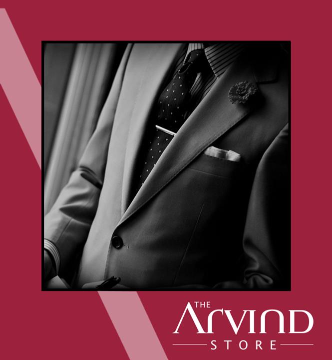 The Arvind Store,  Sagging, Suit, Monochromes, TAS, TheArvindStoreIndia