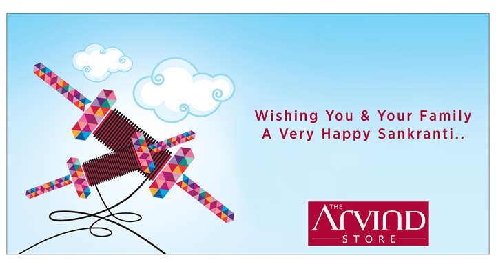The Arvind Store wishes you a safe & a happy #Uttarayan!