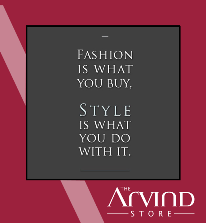 #Fashion #Style #TAS #TheArvindStore #India