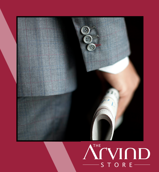 #SuitRule5 -   Sleeve cuffs should be exposed about half an inch!  #TAS #Fashion #TheArvindStore