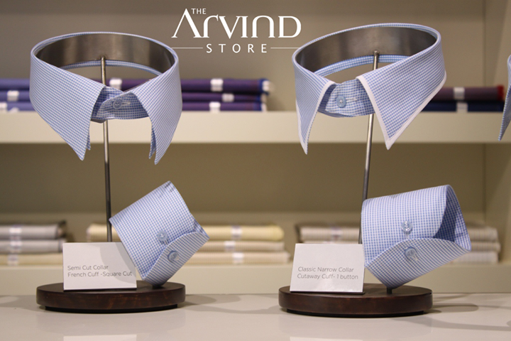 Keep your #Cuffs & #Collars the way you like them!  #AttentionToDetail #TAS #TheArvindStore