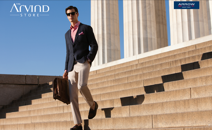Unleash your seriously stylish self at work!   #TAS #TheArvindStore #MensFashion #India