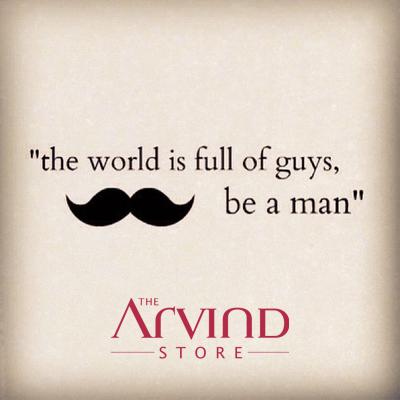 #FashionQuotes #MensFashion #TAS #TheArvindStore
