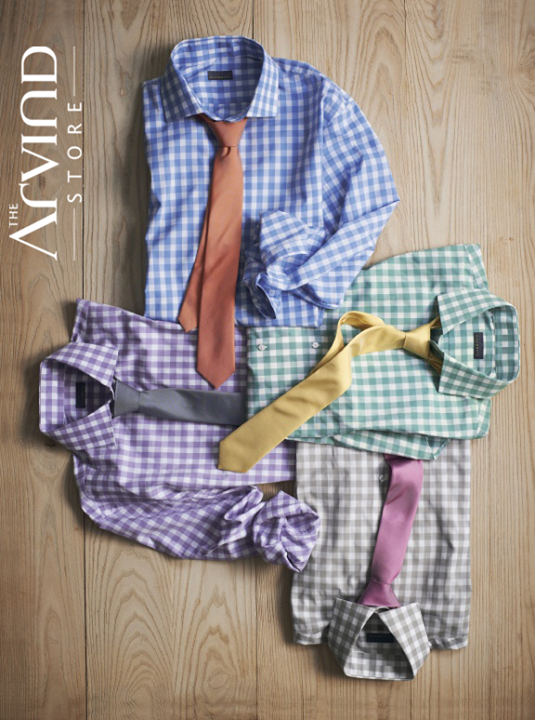 The season to flaunt those checkered shirts is back!  #SummerisLoading #TheArvindStore  #TAS