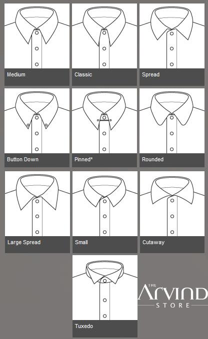Medium   Classic or Spread! What's your #CollarId?   #TAS #TheArvindStore