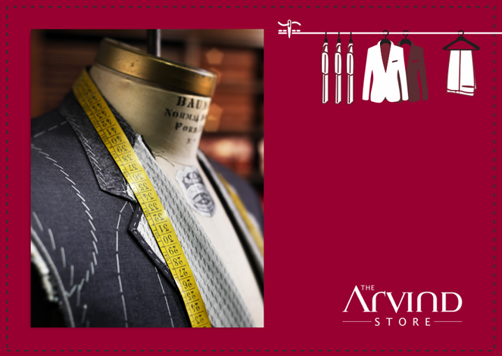 #Customtailoring : Fits the #Misfits!  #AttentiontoDetail #TheArvindStore #Fashion #TAS