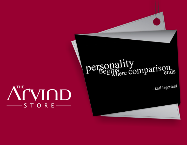 #Personality #Fashion #TAS #TheArvindStore
