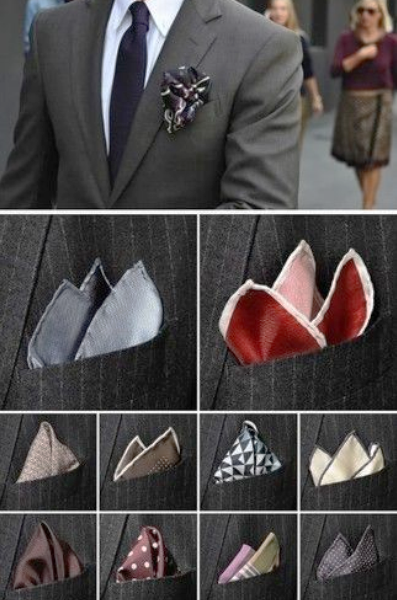 The Pocket Square sets the style, but which style to wear?