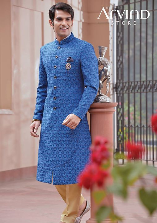 A perfect #Attire for  your #Wedding  #Ceremonials #TheArvindStore #TAS #MensFashion