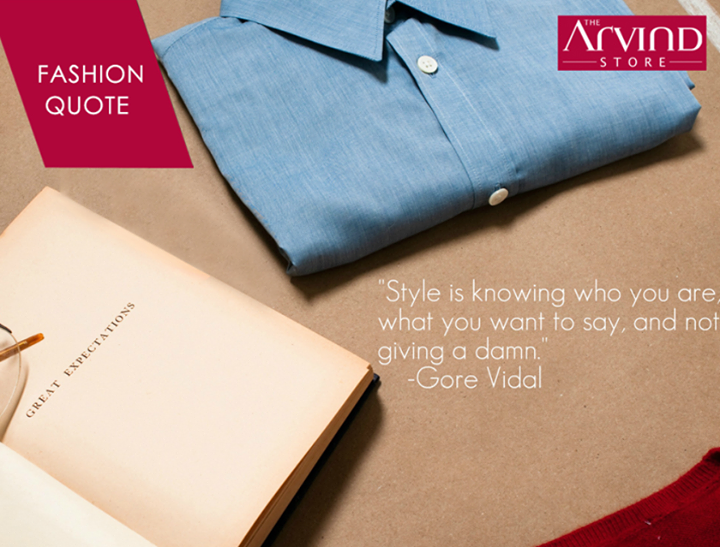 #Fashion #Style #TheArvindStore