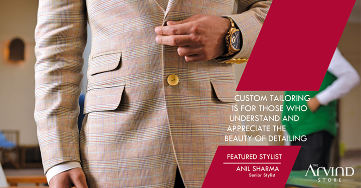 Find your #PerfectFit with #Customization from The Arvind Store !  #Customization #TheArvindStore #MensFashion