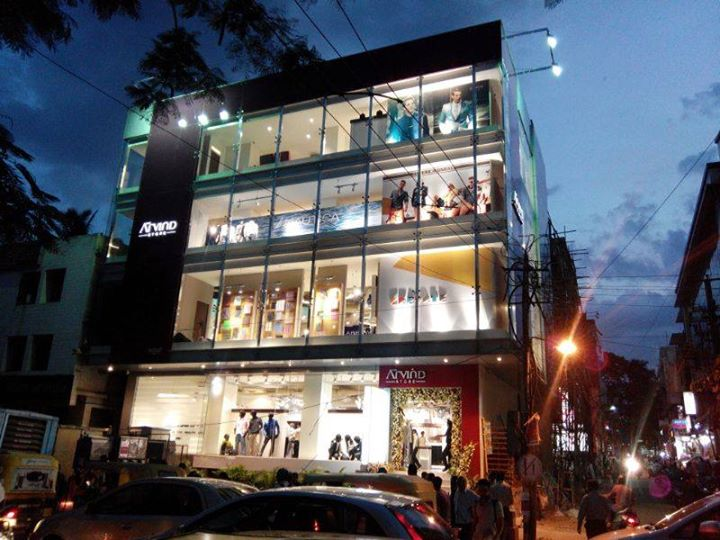 Biggest flagship store of #TheArvindStore, launched at Jayanagar, #Bangalore today.
