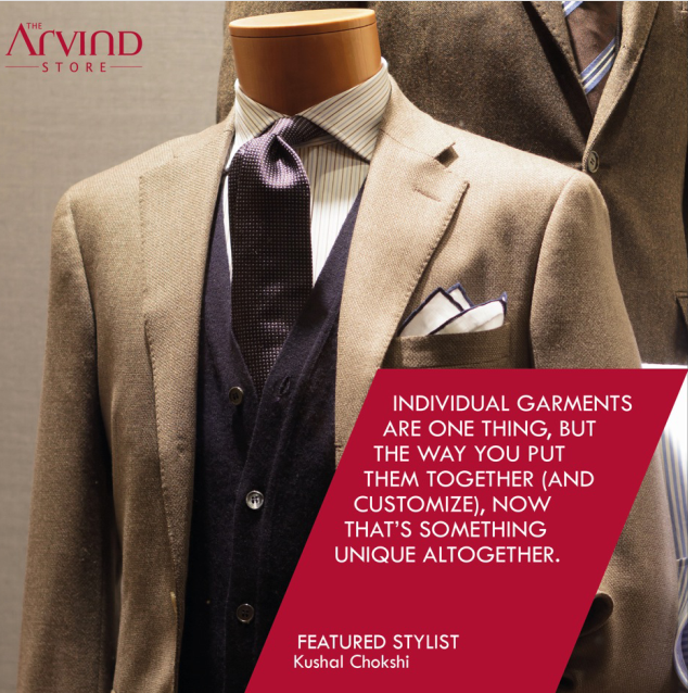 Tip from the #Stylist!  #FashionTips #TheArvindStore #MensFashion