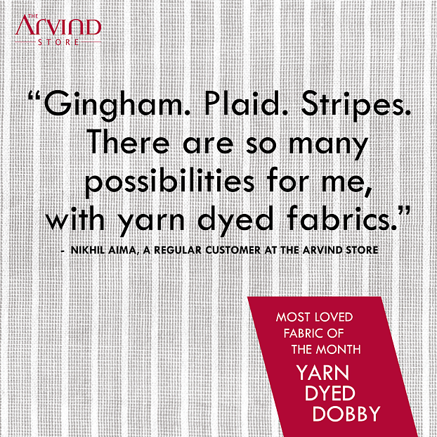 The Arvind Store,  Fabric, Month!, MensFashion, TheArvindStore
