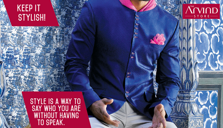 Keep it #Stylish with #TheArvindStore!   #MensFashion #TAS