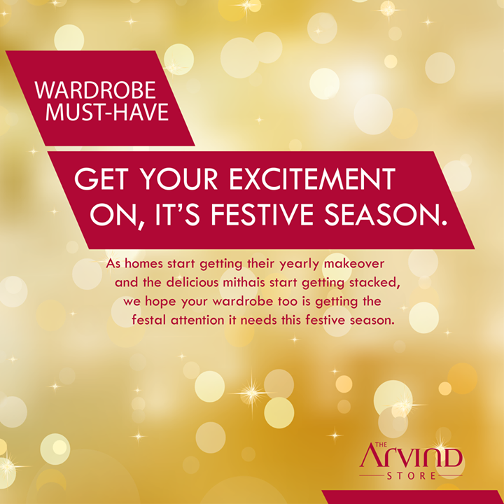 The Arvind Store,  FestiveSeason,, MensFashion, TheArvindStore!