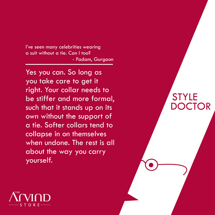 Have some #Fashion doubts to ask? Ask the #StyleDoctor!   #MensFashion #TAS #TheArvindStore
