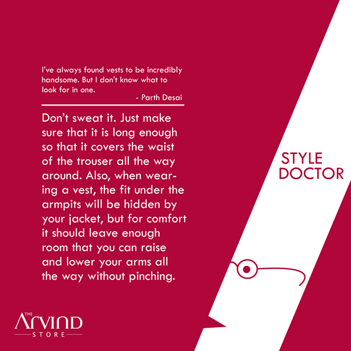 #Fashion doubts? Ask the #StyleDoctor!   #MensFashion #TAS #TheArvindStore