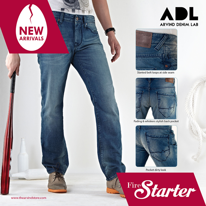 #Denim's that are made to order!  #NewArrivals #ADL #TheArvindStore #TAS