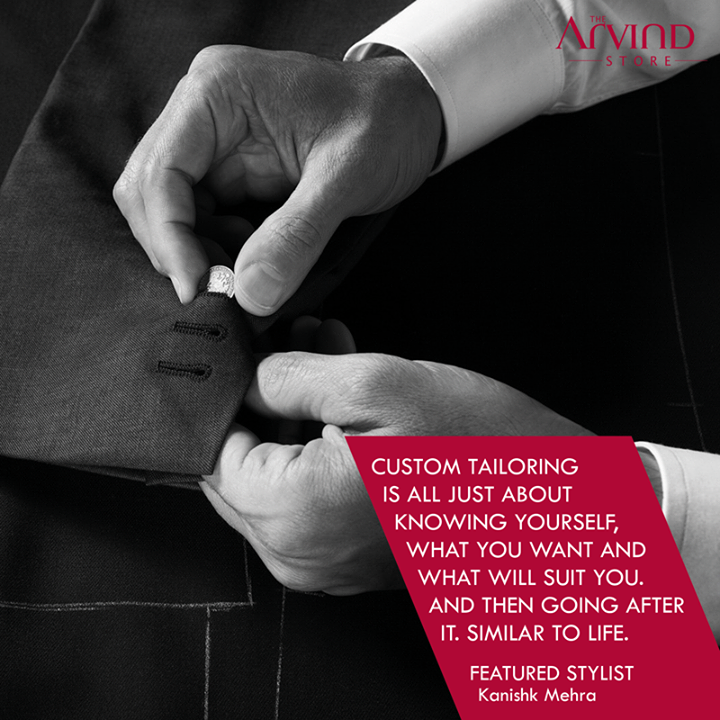 #FashionTips from the #FeaturedStylist !  #TheArvindStore #TAS  #MensFashion