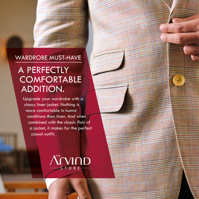 Make a perfectly comfortable addition to your #Wardrobe!  #MensFashion #TheArvindStore #TAS