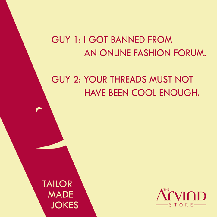 It's time to tickle the #FunnyBone this #Weekend!  #TailorMadeJokes #TheArvindStore #TAS