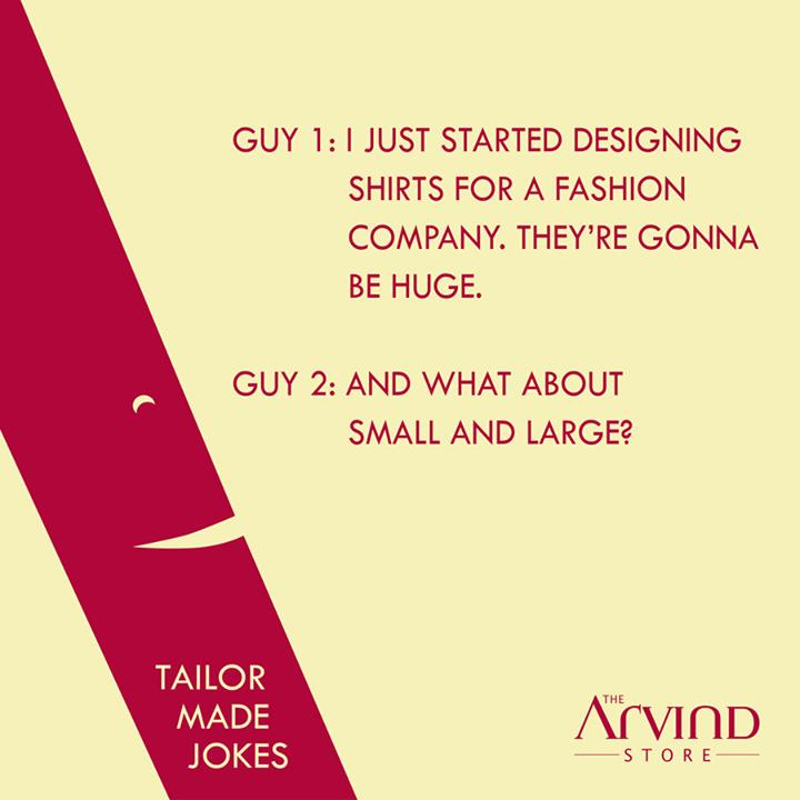 The Arvind Store,  HappyWeekend!, TailorMadeJokes, TheArvindStore, TAS