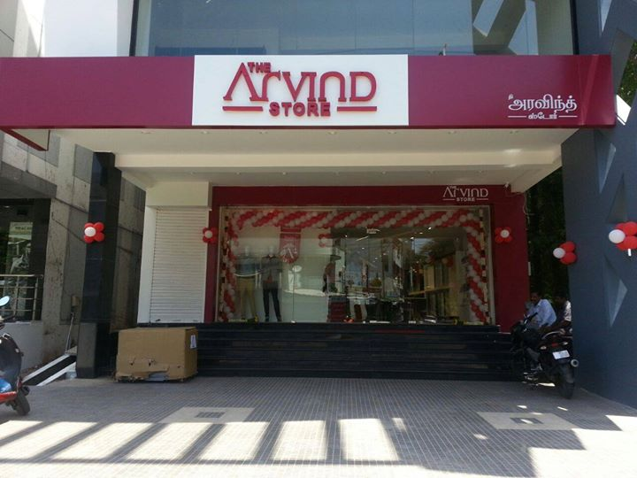The newest Fashion destination in town! #TheArvindStore at Thallakulam !   #Fashion #MensFashion #TheArvindStore #TAS