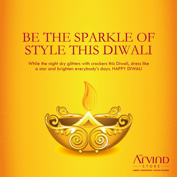 May the festival of lights bring you joy and prosperity. Happy #Diwali!