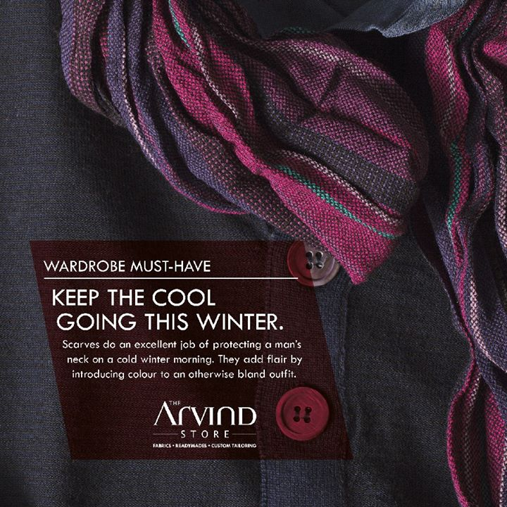 Keep up with the latest in the #fashion trends!  #WardrobeMustHaves #MensFashion #TheArvindStore #TAS