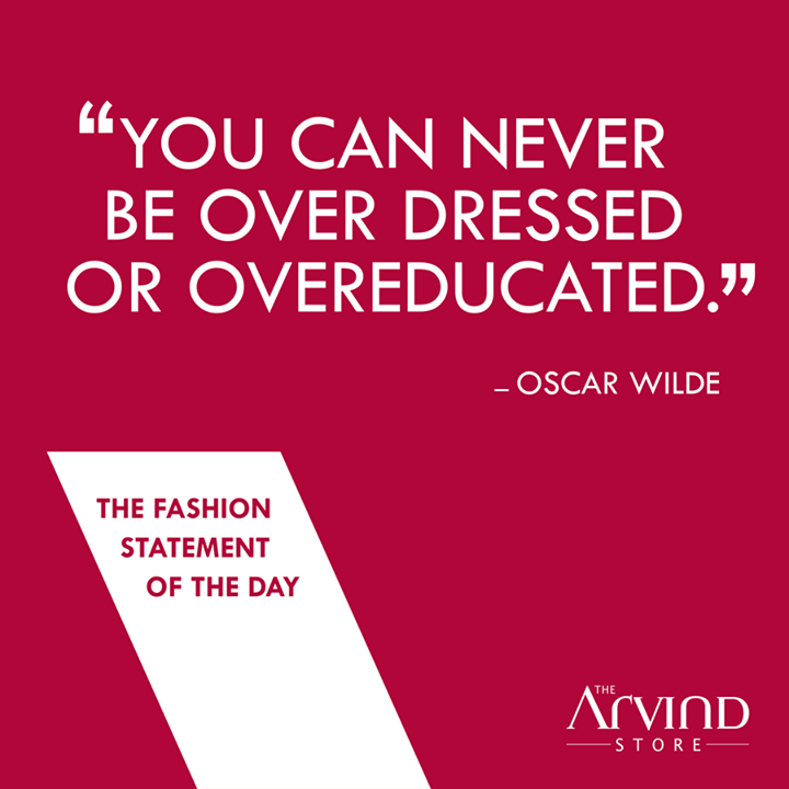 #Fashion #FashionStatement #MensFashion #TAS #TheArvindStore