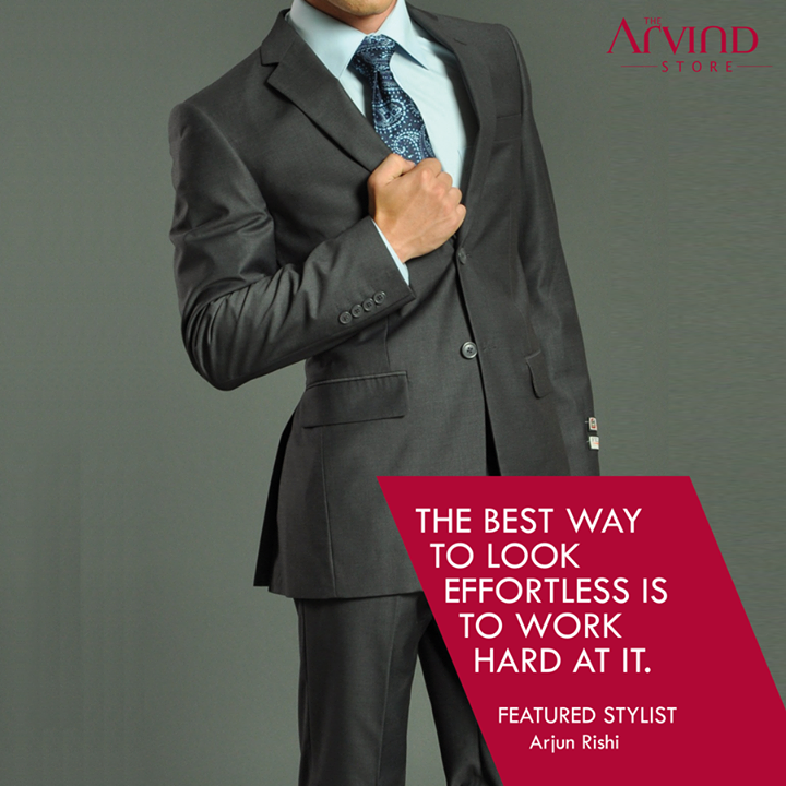 Your tip to look great!  #FeaturedStylist #Fashion #MensFashion #TAS #TheArvindStore
