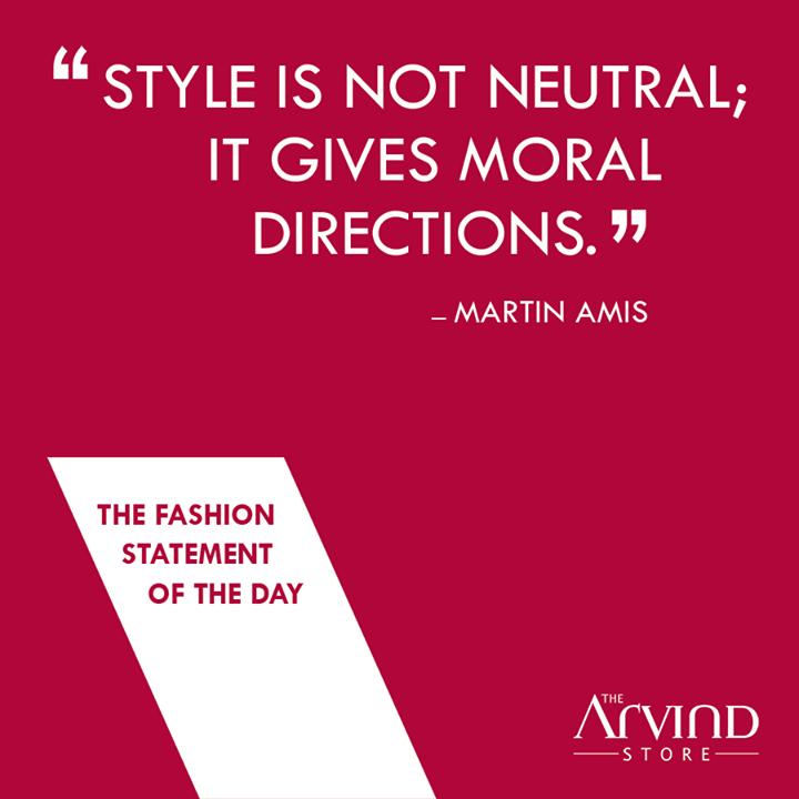 #FashionStatement #TheArvindStore #MensFashion #TAS