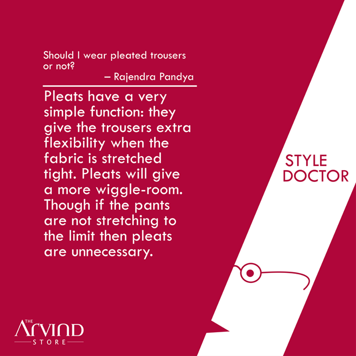 #Styling doubts solved!   #StyleDoctor #MensFashion #TheArvindStore #TAS