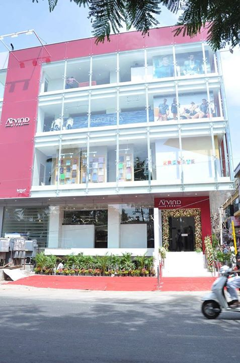 Glimpses of biggest flagship store of #TheArvindStore at Jayanagar, #Bangalore