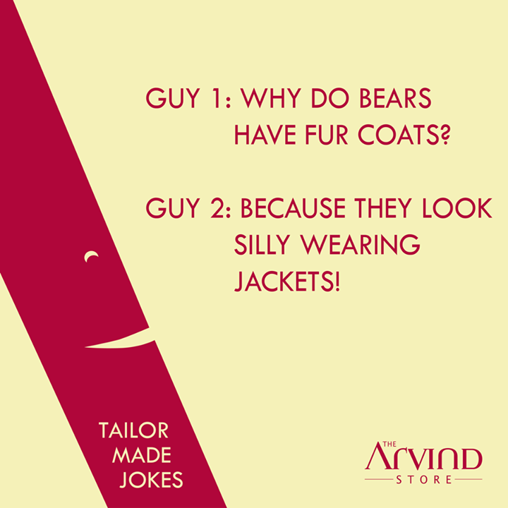 The #Winter #Jokes !  #TailorMadeJokes #TAS #MensFashion #TheArvindStore