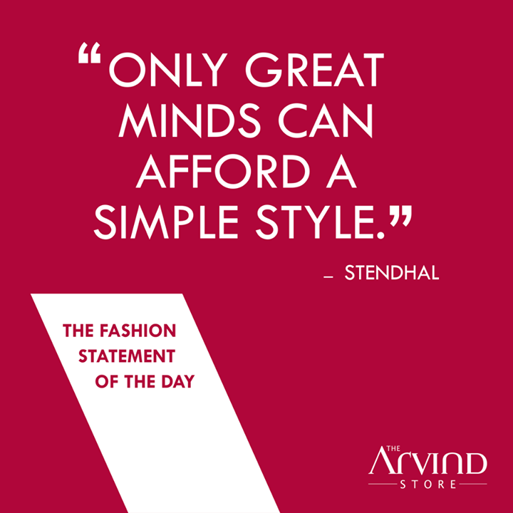 What is #Style to you?  #MensFashion #TAS #TheArvindStore